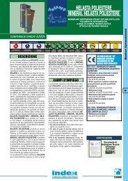 membrana Helasta Poliestere - Mineral Helasta ... - Index S.p.A.