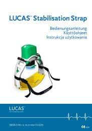 LUCASTM Stabilisation Strap - Lucas CPR