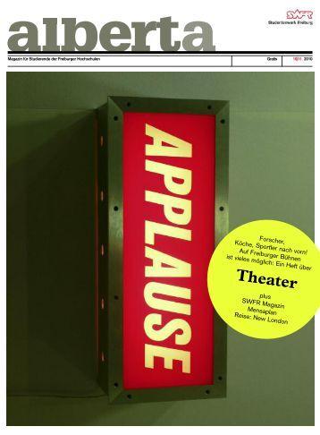 PDF Download 10 - alberta - das freiburger magazin für studierende