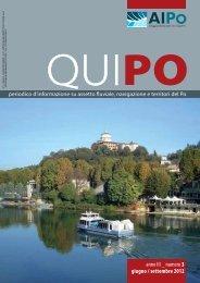 Qui Po n. 3 / Giugno – Settembre 2012 - Agenzia Interregionale per ...