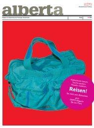 Reisen! - alberta - das freiburger magazin für studierende