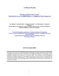 a white paper global infrastructure - Columbia University