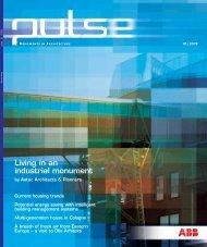 Living in an industrial monument - Busch-Jaeger Elektro GmbH