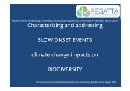 Characterizing and addressing slow onset events climate change ...