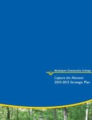 2010-2015 Strategic Plan - Muskegon Community College