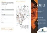 Le livret d'accueil - Centre Hospitalier Régional Universitaire de Lille