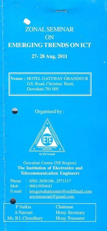 Telecommunication Engineers - IETE