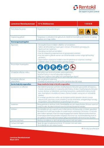 Lurectron Nevelautomaat 15 % Dichloorvos 11016 N - Rentokil