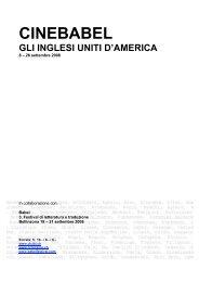 CINEBABEL 2008 per pdf - Circolo del Cinema di Bellinzona