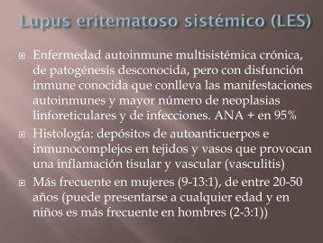 Enfermedades del tejido conectivo: manifestaciones torácicas ...