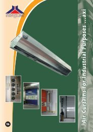 Industrial Air Curtain AXI - Woodleigh Ventilation