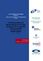 RESPONSE Final Report - European Coalition for Corporate Justice