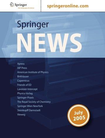 5524-SpringerNews 7/05.indb
