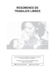 RESÚMENES DE TRABAJOS LIBRES - Filiales - Sociedad ...