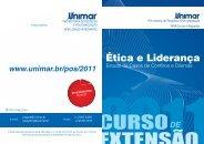 folder curso extensão - ética e liderança.indd - Unimar