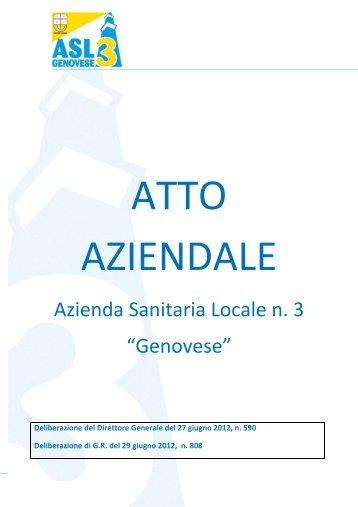 """Azienda Sanitaria Locale n. 3 """"Genovese"""" - ASL n.3 Genovese"""