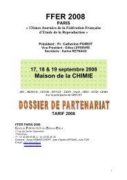 Dossier de Partenariat FFER 2008 - Congrès Eska