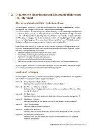 Kapitel 2: Didaktische Einordnung und ... - Bodenreise