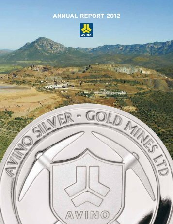 FS - Avino Silver & Gold Mines Ltd.
