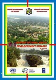 2ème Rapportsur le Développement Durable - RIO+20-Mai 2012