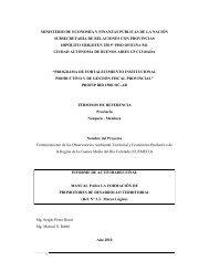 Manual para Agentes Territoriales - Plan Estratégico de Malargüe