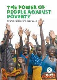 Oxfam Strategic Plan, 2013-2019