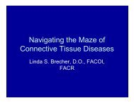 Navigating the Maze of Connective Tissue Diseases