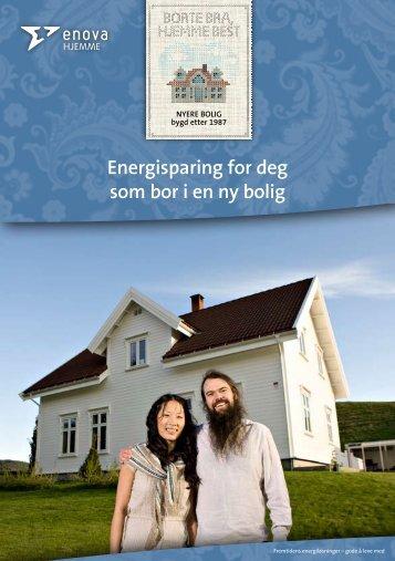 Energisparing for deg som bor i en ny bolig - Polar Kulde AS