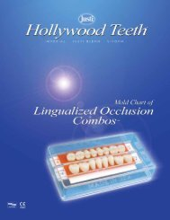 Lingualized Occlusion Combos - American Tooth Industries