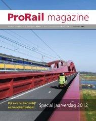 ProRail magazine over het jaarverslag 2012