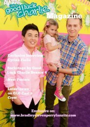 Good Luck Charlie Magazine 2