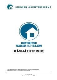 Asuntomessut Vaasassa, kävijä