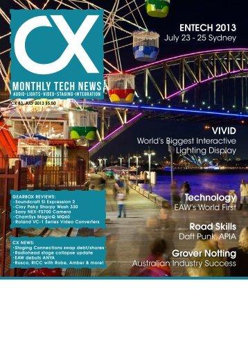 CX Magazine - ABC Studio installation of GROVER NOTTING