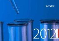 Annual Report 2012 - Grindeks