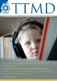 Dergi pdf için tıklayın - TTMD