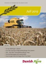 Læs nyhedsbrevet for juli måned • To nye afdelinger i ... - Danish Agro