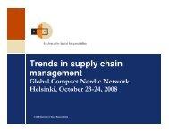 Peder-Michael Pruzan-Joergensen - Global Compact Nordic Network