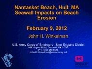 Nantasket Beach, Hull, MA Seawall Impacts on Beach ... - fsbpa