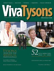 to download a PDF copy of our current issue. - Viva Tysons Magazine