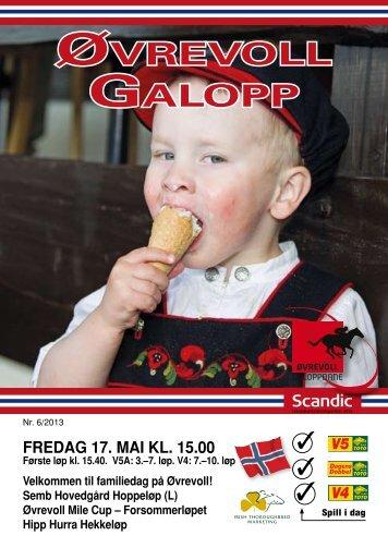 Program 17 mai_TRYKK.pdf - Øvrevoll Galoppbane