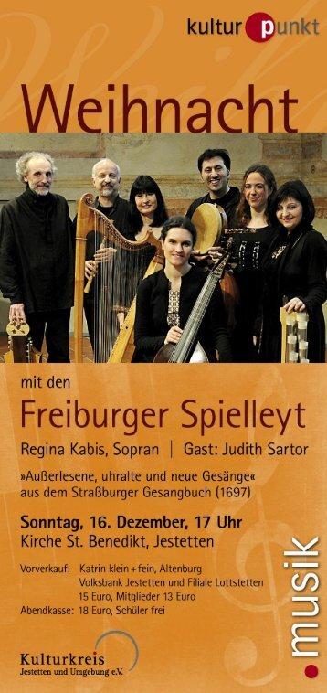Untitled - Kulturkreis Jestetten