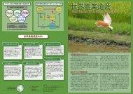 世界農業遺産のパンフレット - UNU-ISP