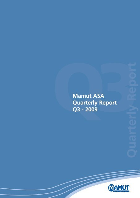 Report - Mamut