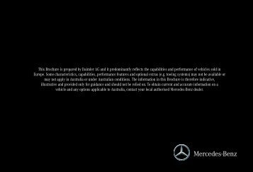 Download S-Class Brochure (PDF) - Mercedes-Benz