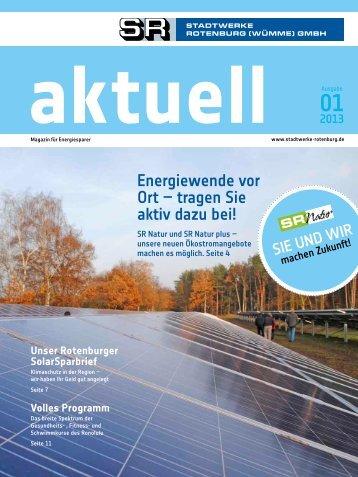 Ausgabe 01/201 - Stadtwerke Rotenburg