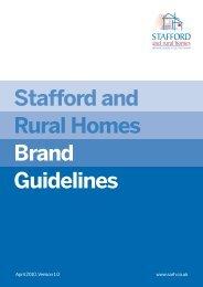 Logo - Stafford and Rural Homes