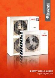 Pompy ciepła AUDAX - edycja sierpień 2011 - Immergas