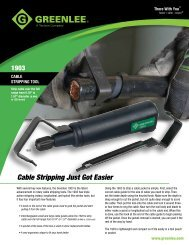 Cable Stripping Just Got Easier