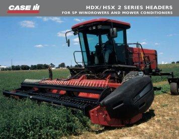 hdx/hsx 2 series headers - Centre Agricole.ca