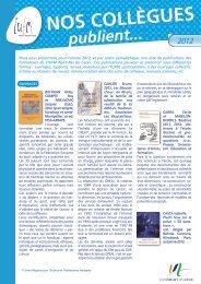 format PDF - IUFM